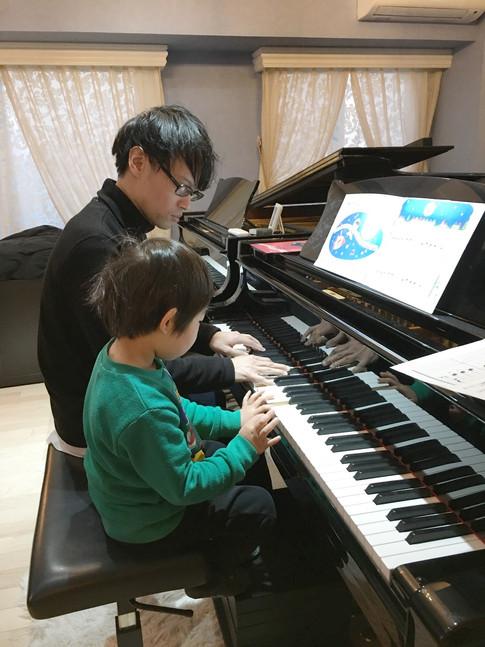 ウェルカム!ピアノ男子