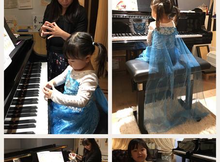 【びっくり】自ら進んでピアノの前に座って練習するナイスアイディア(女の子向け)