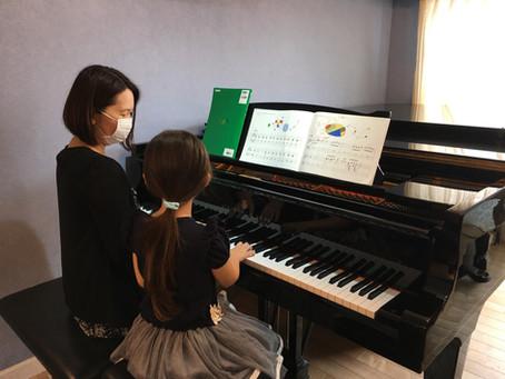 【江東区の音楽教室】連弾って楽しいね