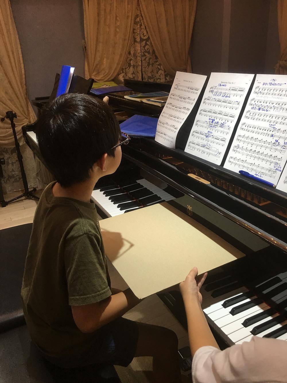 すぐにできる、ピアノの姿勢の改善法