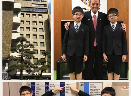 【江東区の音楽教室】江東区長さんに表敬訪問しました!
