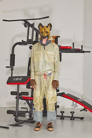 Julien David Dog Collection Menswear Tracksuit German Shepherd Gym