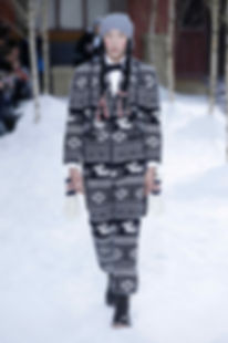 Thom Browne Dachshund Knitted Suit