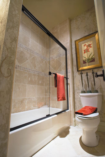 Classic 3400 Frameless Sliding Shower Door