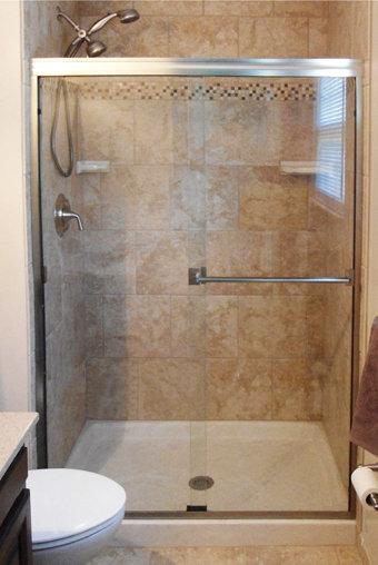 "Classic 3500 (38"" - 48"") Frameless Shower Door"