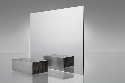 PLASKOLITE® SEE-THRU ACRYLIC MIRROR SHEET *Available upon request
