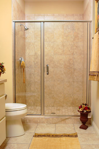 1413 Frameless Swing Shower Door