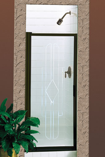 Deluxe 500 Swing Glass Shower Door
