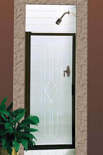 Deluxe 100 Swing Panel Shower Door