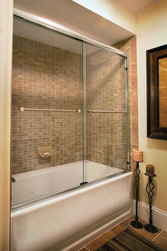 Infinity 4400 Frameless Sliding Shower Door