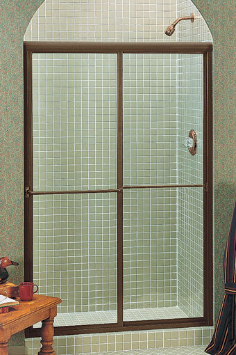 """Supreme 3150 (38"""" - 48"""") Sliding Shower Door"""