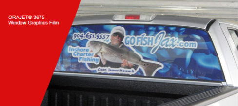 3675 - Perforated Window Graphics PVC Digital Media (50% / 50% Perforation)