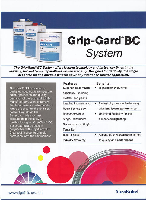 Grip-Gard® BC Basecoat System