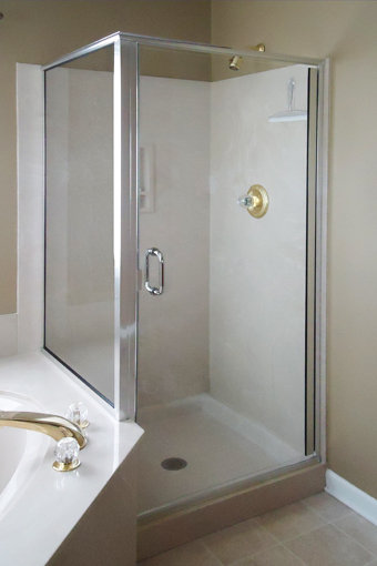 Infinity 1714 Frameless Swing Shower Door