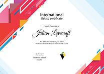 Gelato online course