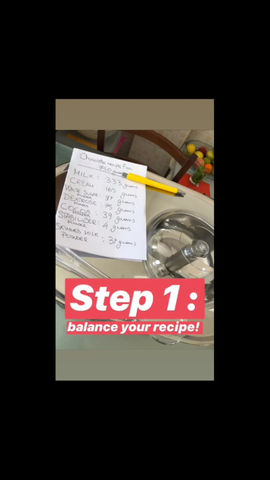 How to make chocolate #gelato!