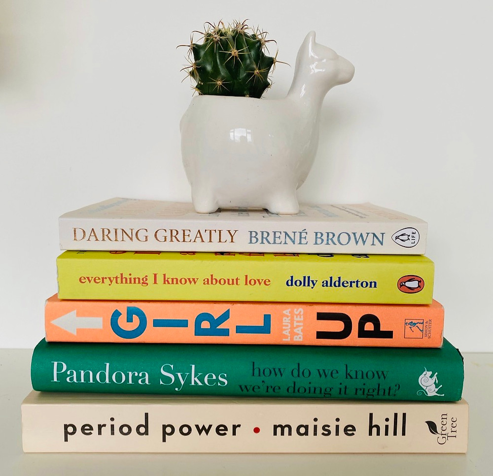 Esther's non-fiction stack
