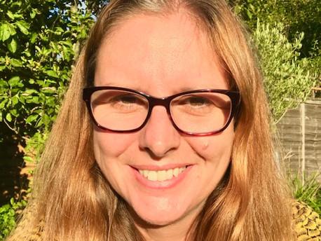 Ana McLaughlin, Deputy Publicity Director at Quercus and riverrun books
