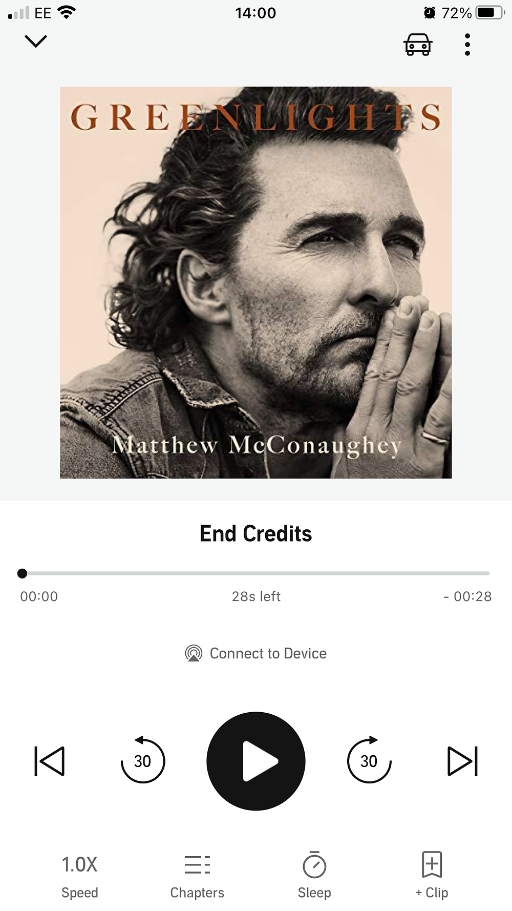 Matthew McConaughey's 'Greenlights'