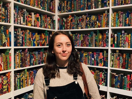 Becca Parkinson, Engagement Manager at Comma Press