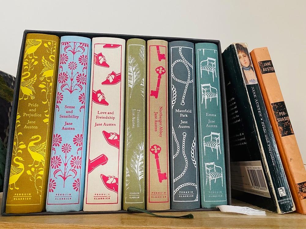Esther's Penguin Clothbound Jane Austen collection