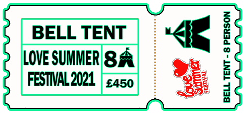 8 Person Bell Tent - 6-9th August 2021