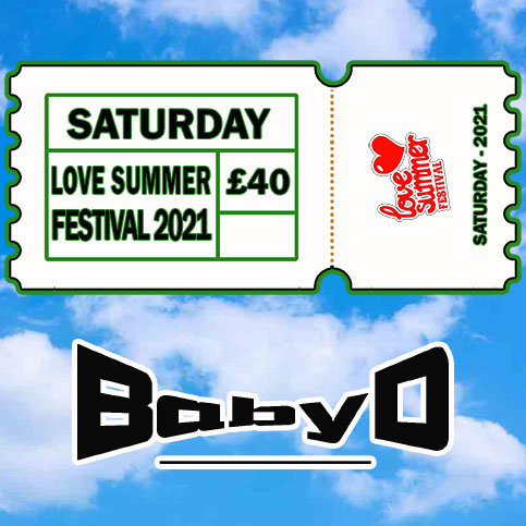 Saturday 2021 - DAY TICKET - ADULT