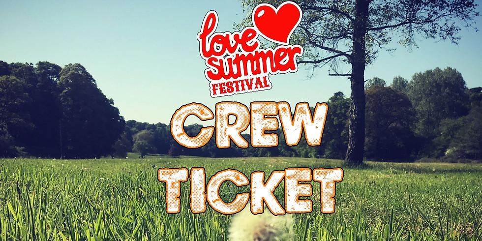 Love Summer Festival - Crew Accreditation System