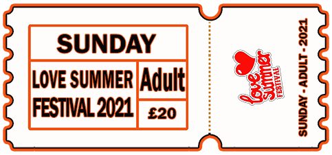 Sunday 2021 - DAY TICKET - ADULT