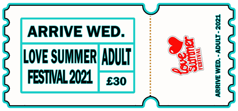 Arrive Early - WED 4th AUG 2021 - ADULT