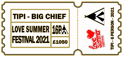 16 Person Tipi - 6-9th August 2021 - THE BIG CHIEF