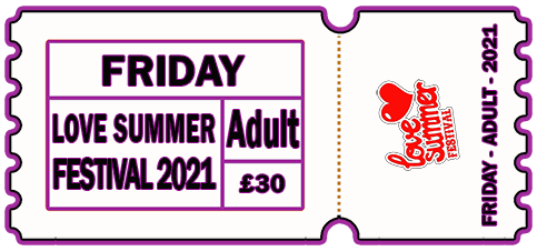 Friday 2021 - DAY TICKET - ADULT