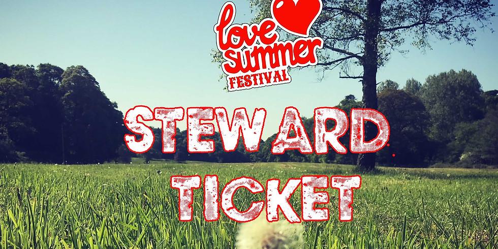 Love Summer Festival - Steward Accreditation System