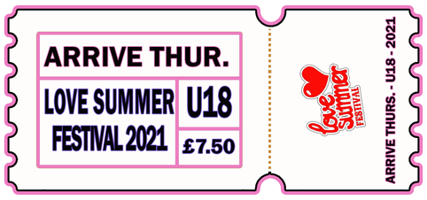 Arrive Early - THUR 5th AUG 2021 - U18