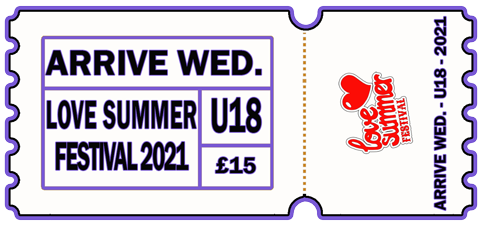 Arrive Early - WED 4th AUG 2021 - U 18