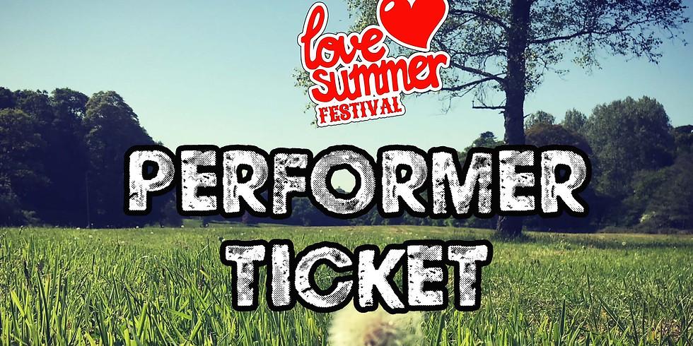 Love Summer Festival - Performer Accreditation System