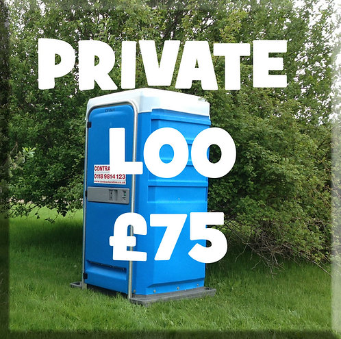 Private Loo with Lock & 2 Keys
