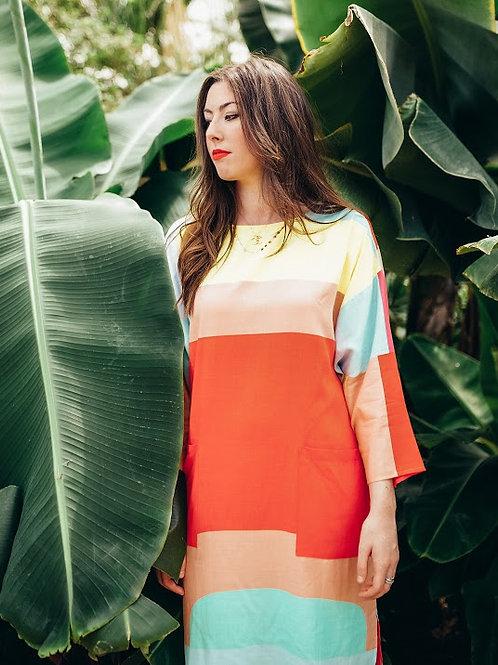 Mara Hoffman Geometric Print Dress NEW