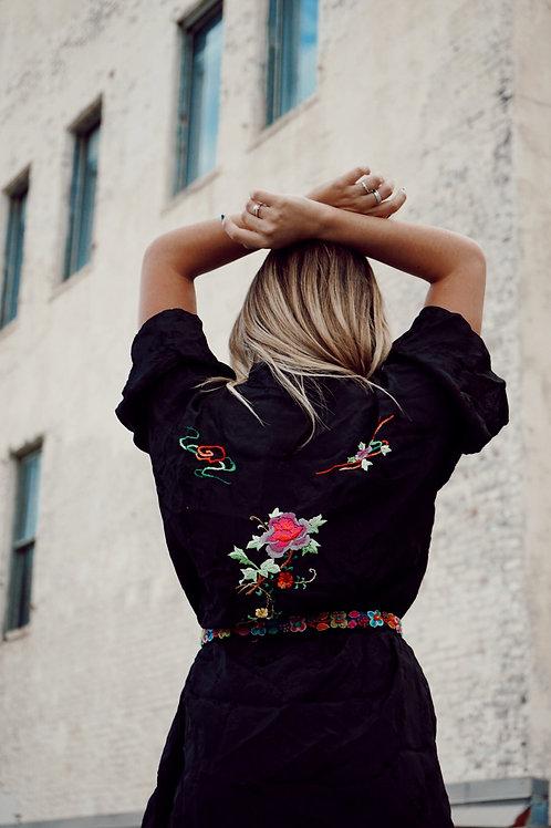 Embroidered Vintage Kimono