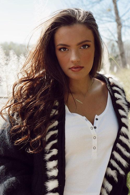 Vintage Black Sweater by Nina Austin
