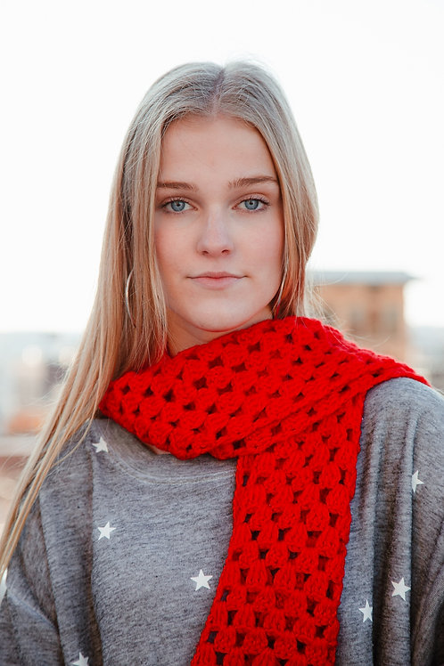 Wrapped In Red Scarf