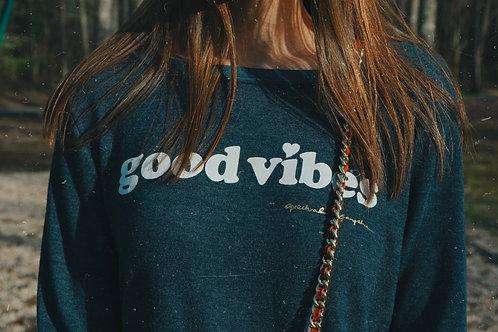 Good Vibes Spiritual Gangster Pullover
