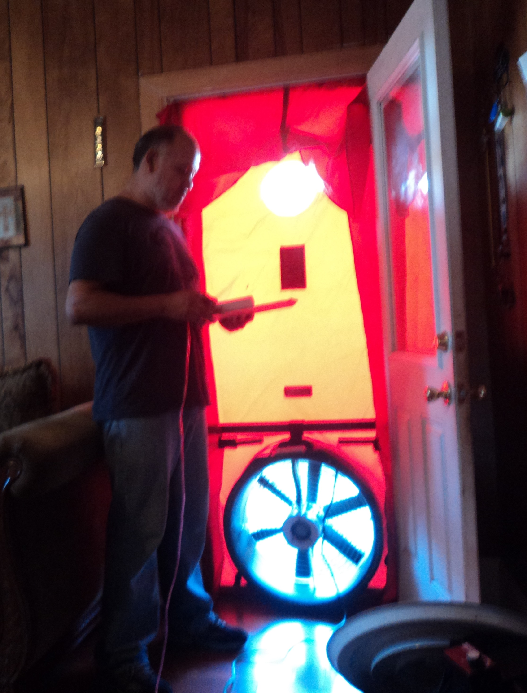 Blower Door Test 1 - WAP PY 16