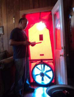 Blower Door Test 1 - WAP PY 16