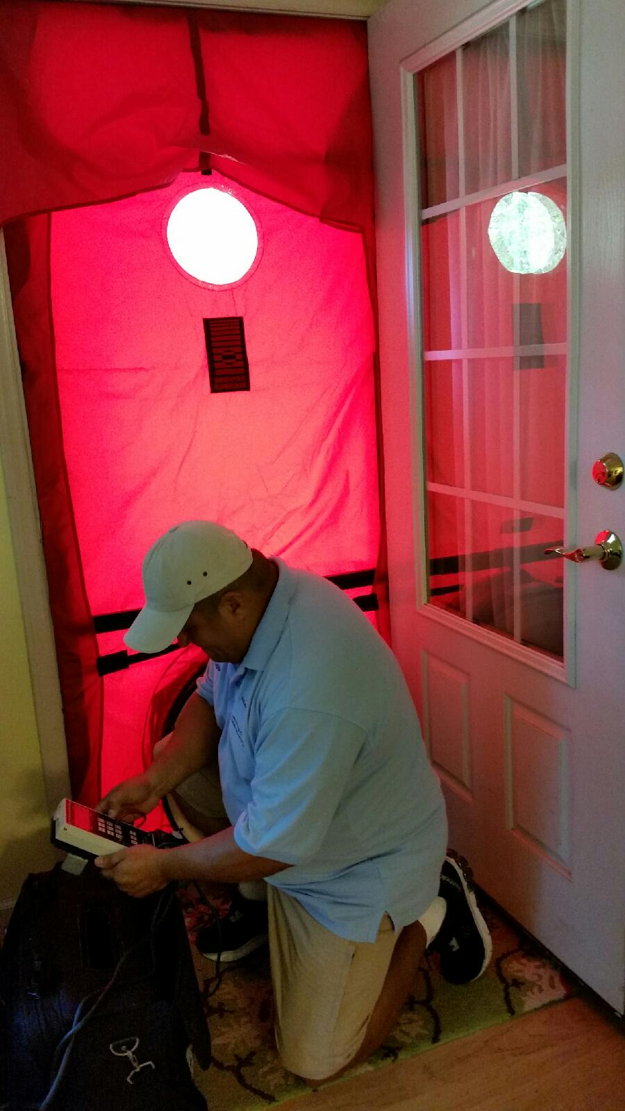 Blower Door Test 3 - WAP PY 16
