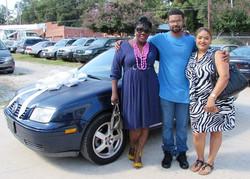 TJ's Car Blessing 1