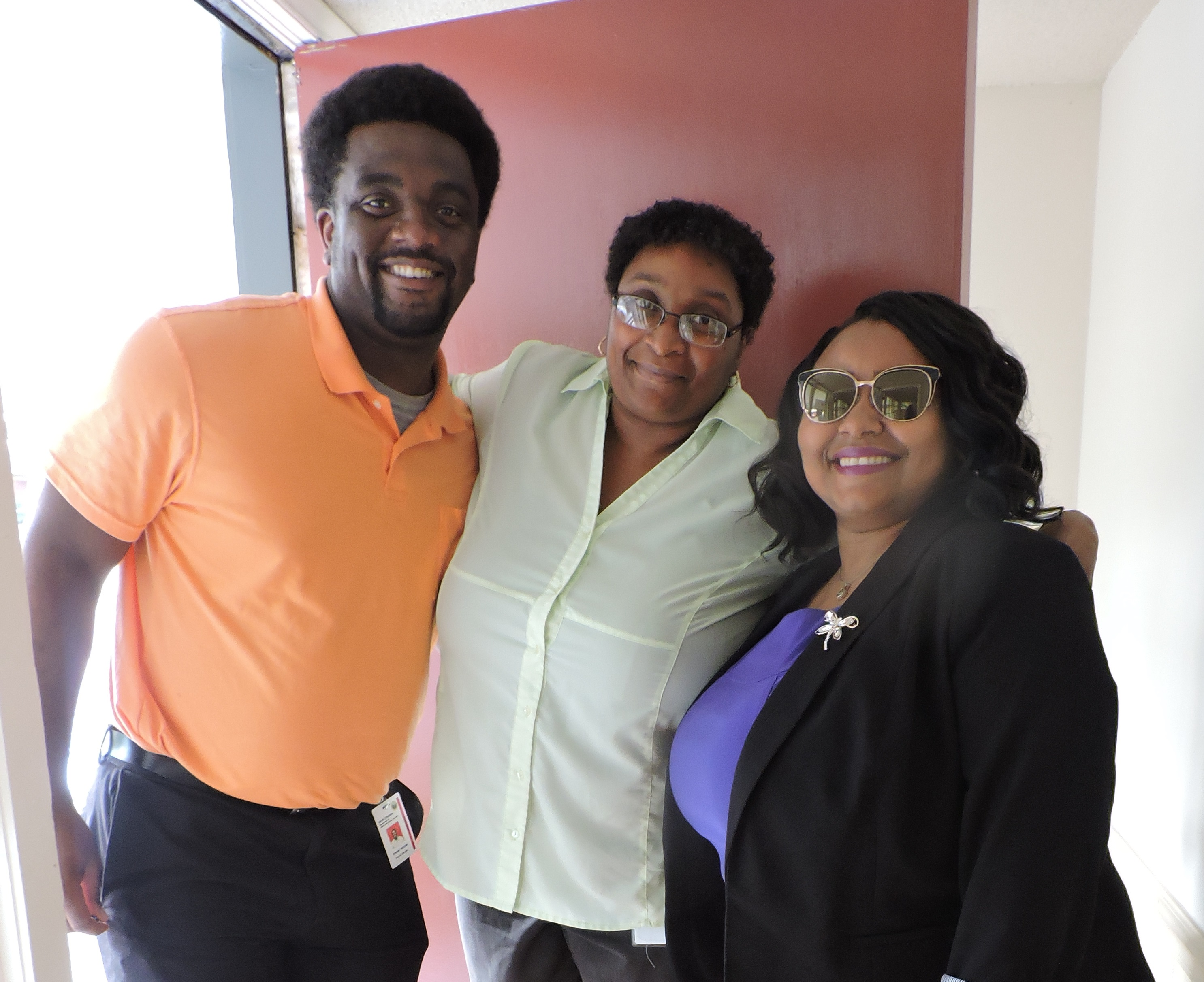 Anwar Archer & Nichelle Cole, Office of Economic Opportunity & Natasha Elliott, CPCA Executive Direc