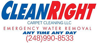 CLEAN RIGHT CARPET CLEANING 248-990-8533