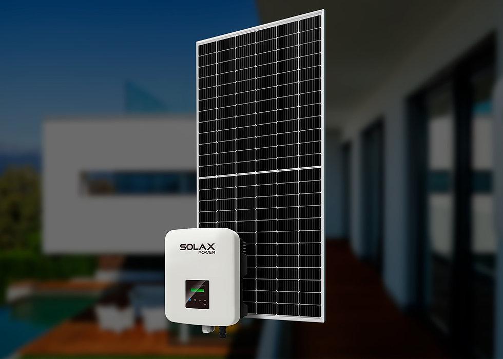 Solax, однофазный, 5 кВт