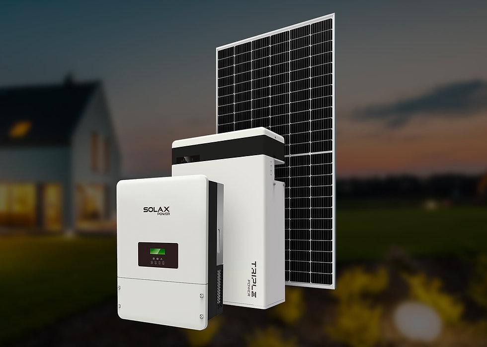 Solax ESS, трехфазный, 5 кВт